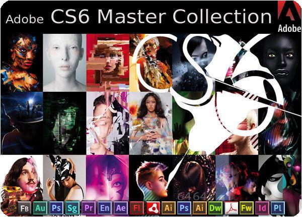 Adobe CS6 Master Collection windows