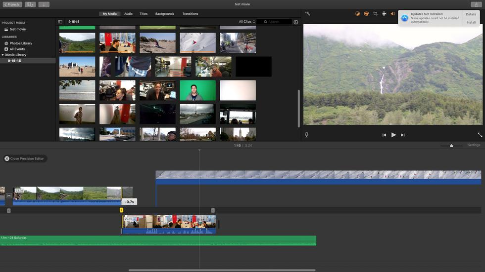 Apple iMovie mac