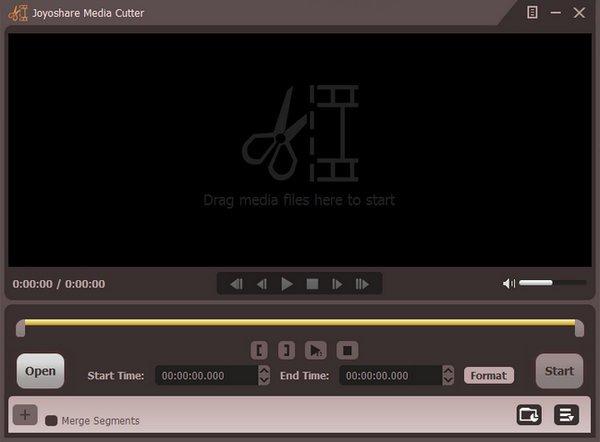 Joyoshare Media Cutter mac