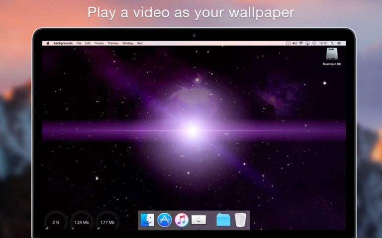 Backgrounds mac