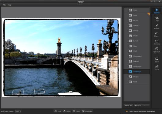 Fotor Photo Editor windows