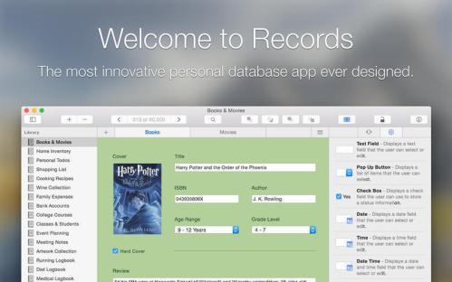 Records mac