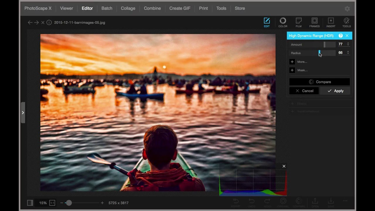 PhotoScape X windows