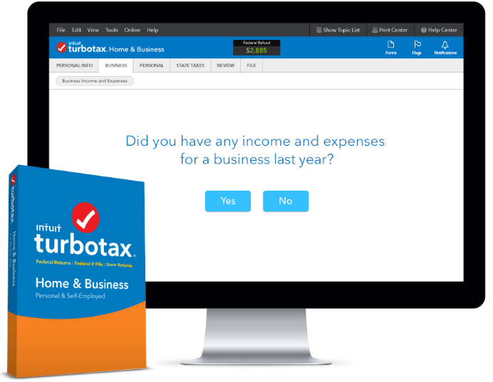 TurboTax Home Business