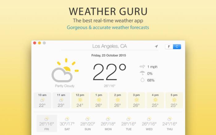 Weather Guru windows