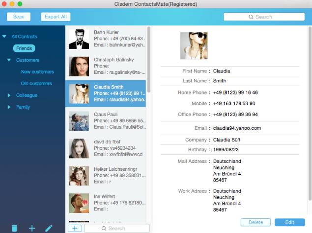 Cisdem ContactsMate windows