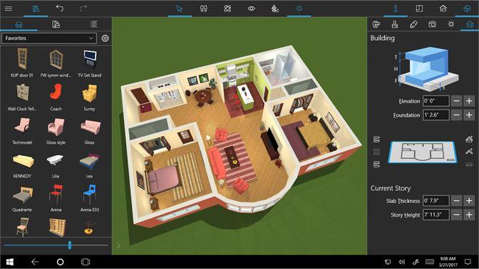 Live Home 3D windows