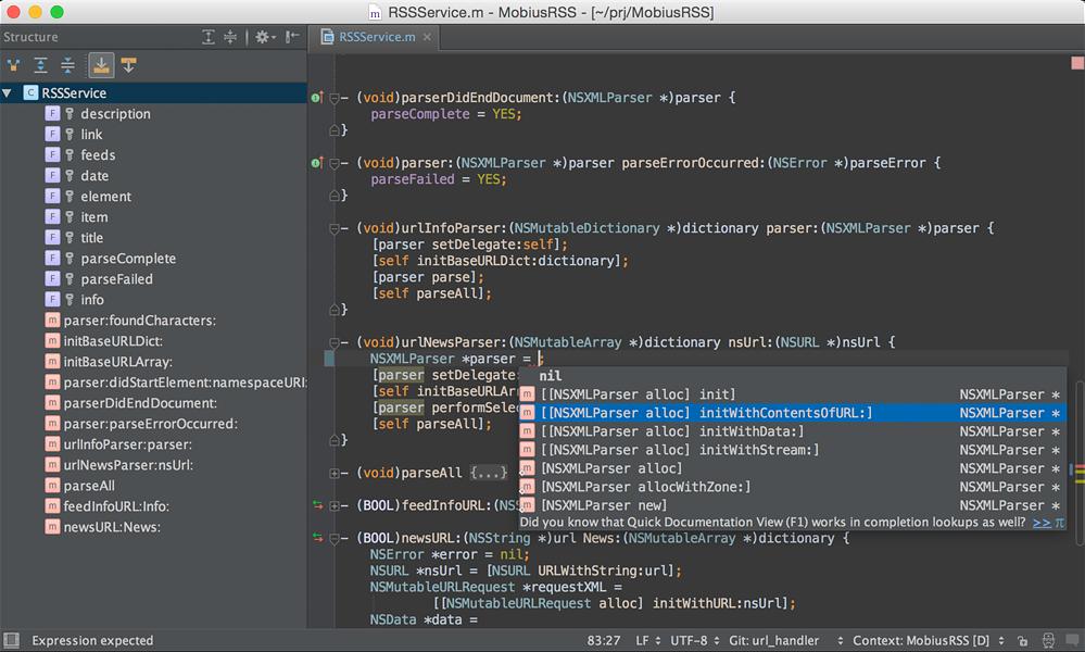 JetBrains AppCode windows