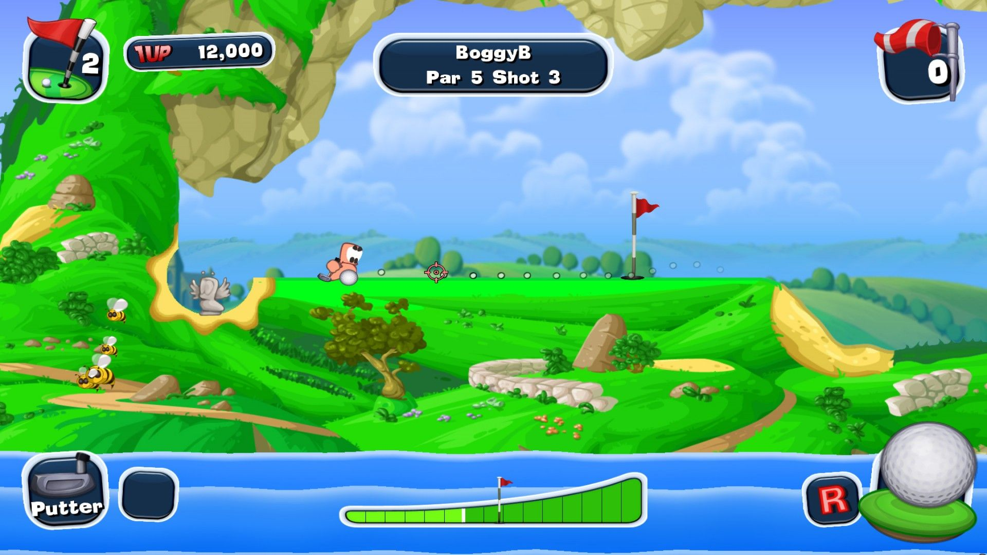 Worms Crazy Golf windows