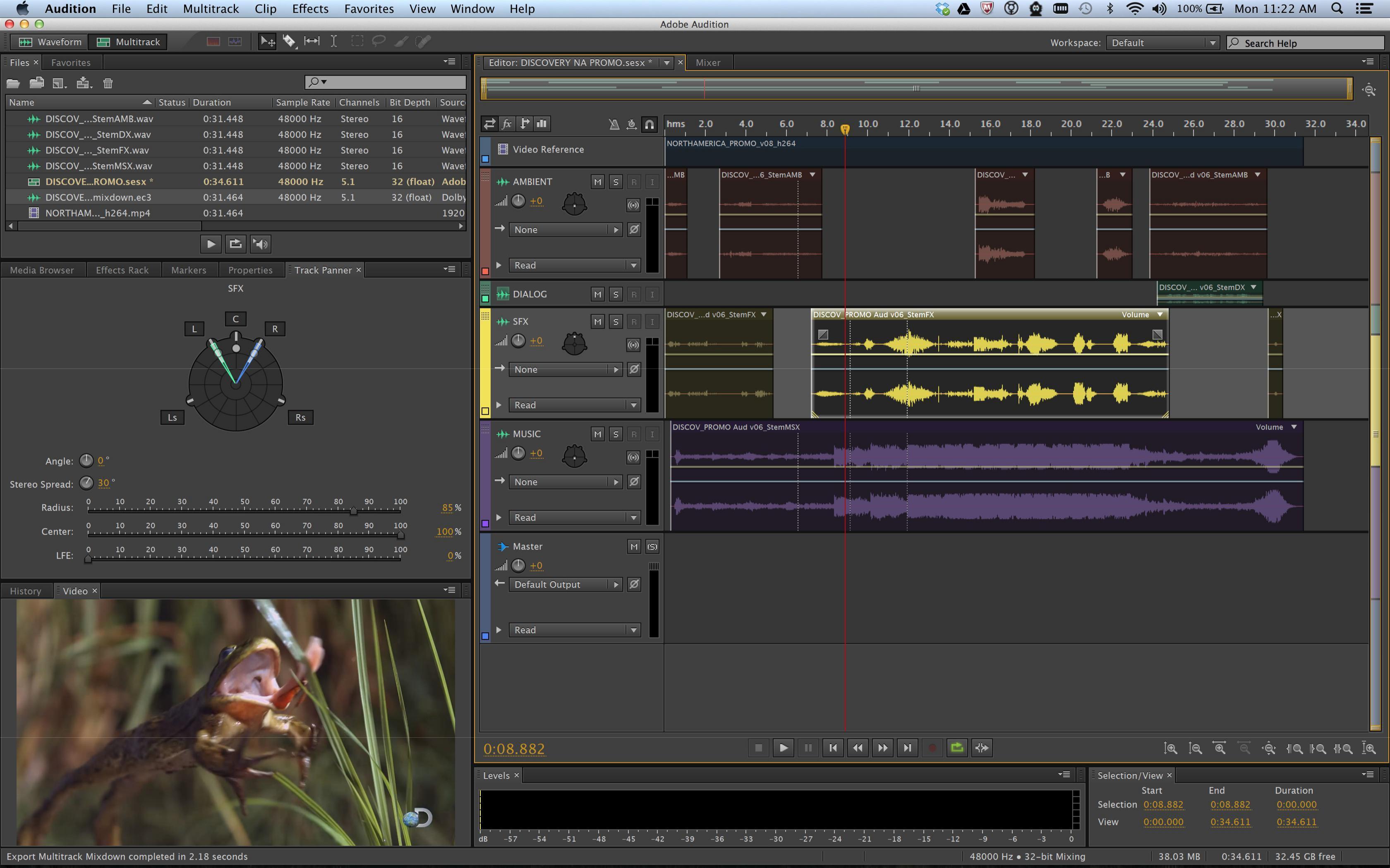 Adobe Audition CC mac