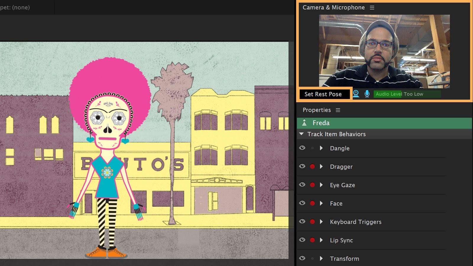 Adobe Character Animator CC mac