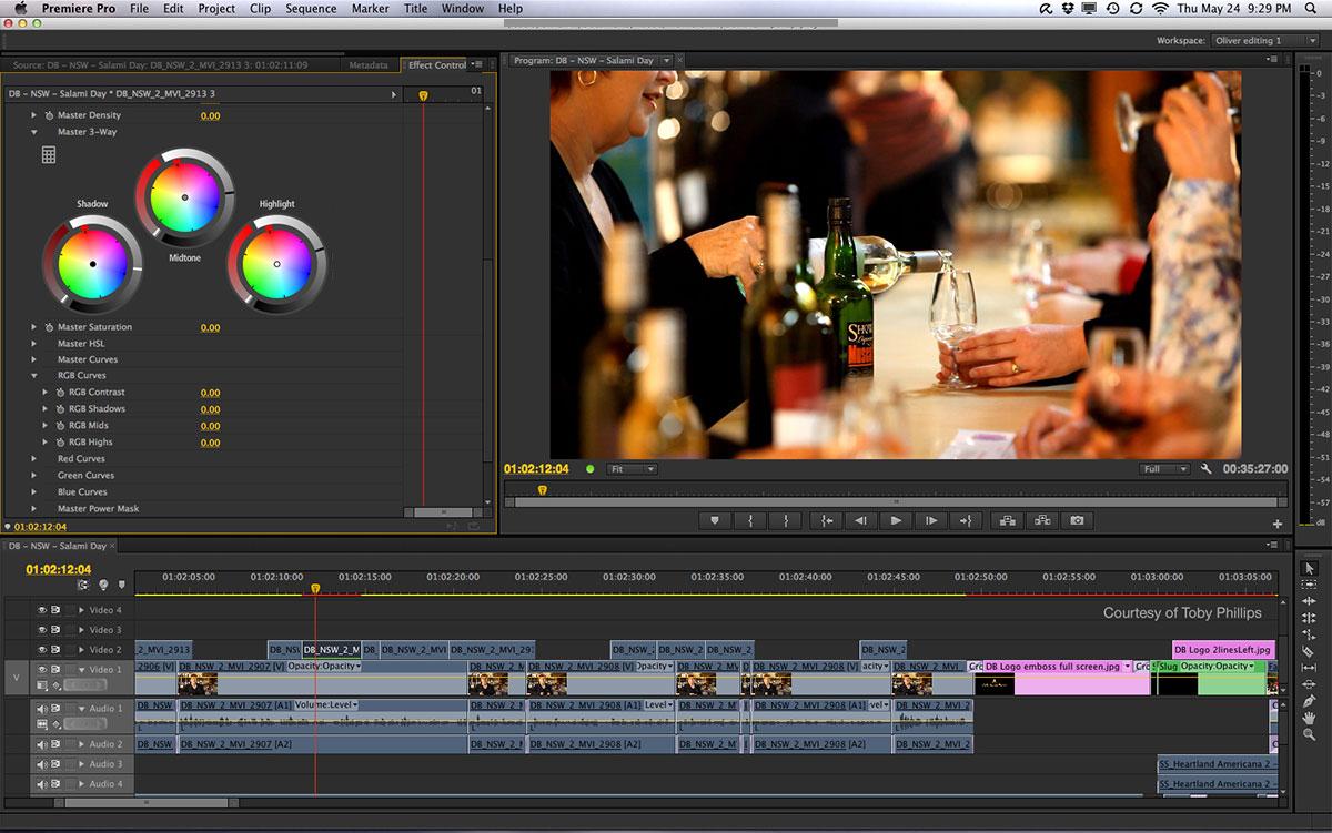 Adobe Premiere Pro CS6 mac