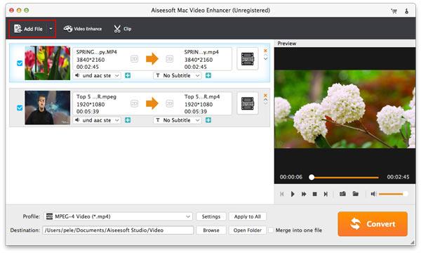 Aiseesoft Video Enhancer mac