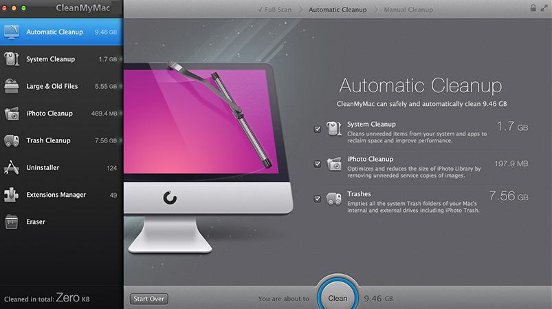 CleanMyMac mac