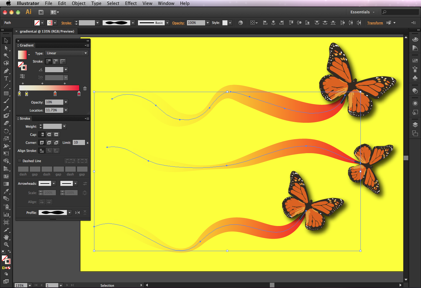 Adobe Illustrator CS6 windows
