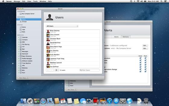 Apple OS X Server mac