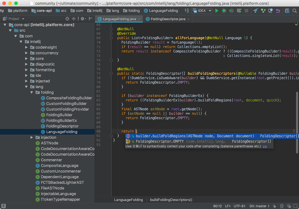 JetBrains IntelliJ IDEA Ultimate mac