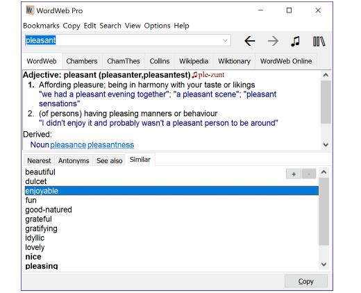 WordWeb Pro Ultimate Reference Bundle mac