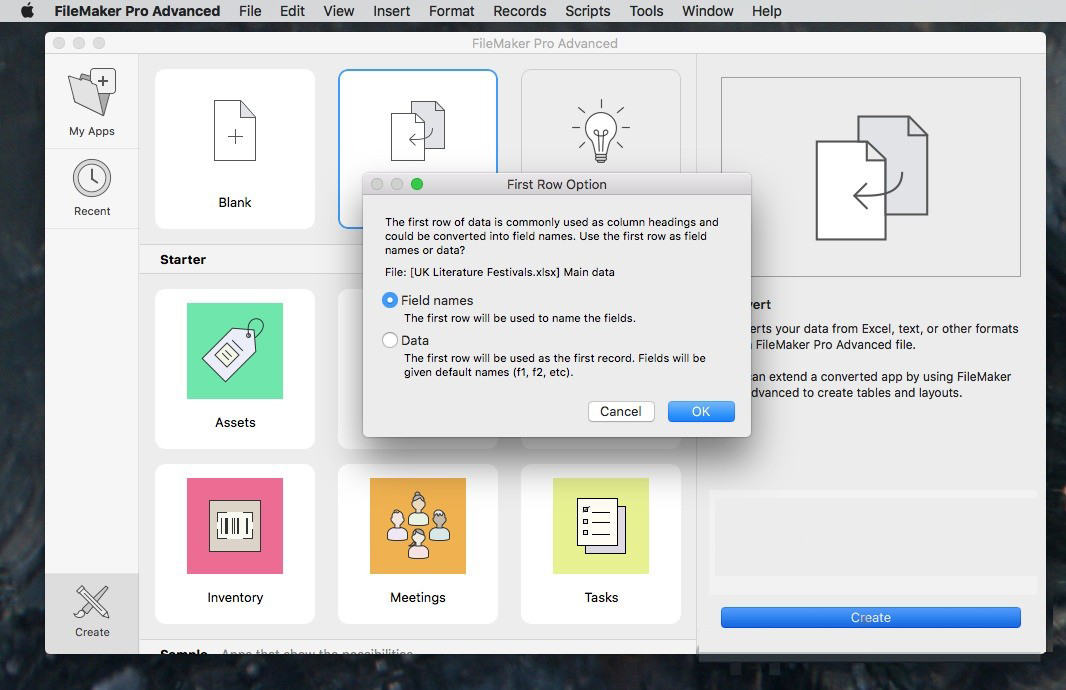 FileMaker Pro Advanced Mac