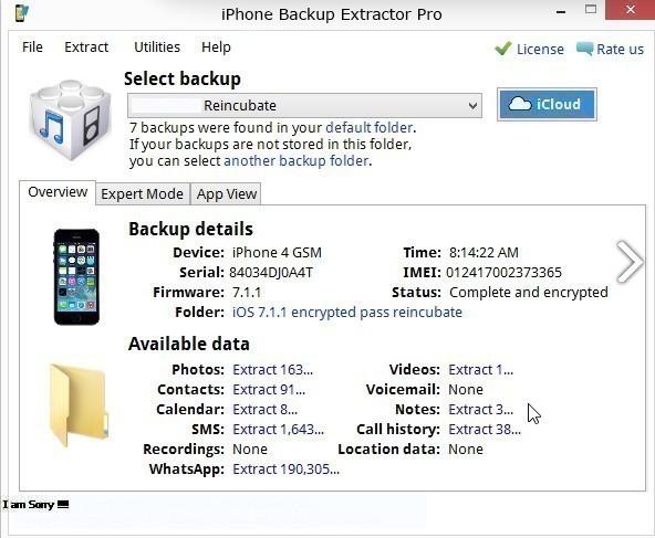 iPhone Backup Extractor Mac